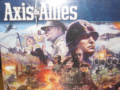 boite du jeu Axis and allies