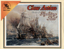 boite du jeu Close action : the age of the fighting sails